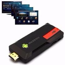 Minipc Android 4.4 Box Tv Quadcore 2g Bluetooth Antena Wifi