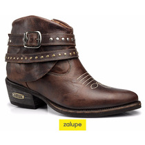 Bota Country Montaria Feminina Couro Capelli Boots Ref.:3106