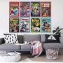 Placa Decorativa Em Mdf 20x30 Geeks Marvel Nerd Comics Herói