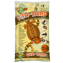 Substrato P/ Terrário Zoomed Vita-sand Goby Gold - Pet Hobby