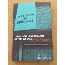 Livro Experiências Na Formação De Professores
