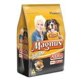 Ração Magnus Todo Dia Premium Cachorro Adulto Raça Média/grande Carne 10.1kg