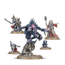 Warhammer 40k Broodcoven Genestealers Patriarch Primus Magus