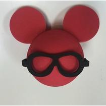 Bolinha Enfeite De Antena Minnie Carro Mickey