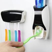 Dispenser Automático De Pasta De Dente + Suporte De Escovas