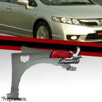 Paralama Honda New Civic 2006 A 2011 Lado Direito Com Furo