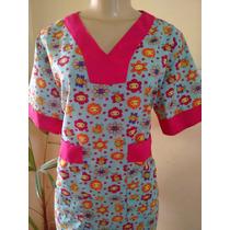 Camisa Do Pijama Cirúrgico Estampado