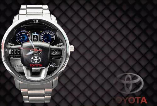 47e60b70b95 Relógio De Pulso Personalizado Painel Volante Toyota Hilux