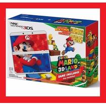 New Nintendo 3ds Bundle Super Mario 3d Land Novo - E-sedex