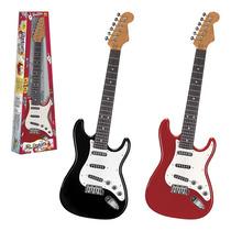 Guitarra Elétrica Infantil Com Som Cordas De Aço