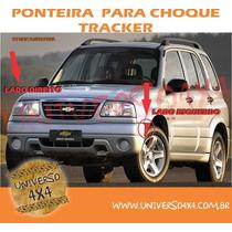 Aplique Parachoque Dianteiro Tracker, Esquerda, Motorista