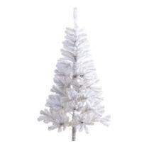 Árvore De Natal Branca 1,80m + Pisca Pisca Led Azul