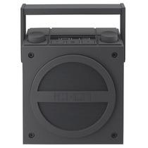 Caixa De Som Retrô Com Bluetooth E Rádio - Ihome Cinza