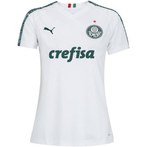 Camisa Do Palmeiras Puma Feminina 2019 Oficial - Promoção 115cb4a9f3d43