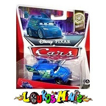 Disney Cars Dj With Flames Lacrado Original Mattel