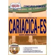 Apostila Prefeitura De Cariacica Agente Administrativo
