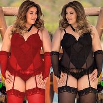 bd570ba5f Busca Conjunto vermelho lingerie com os melhores preços do Brasil ...