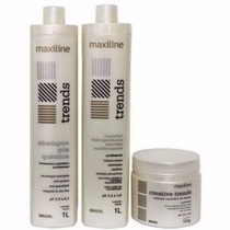 Kit Trends (4 Produtos) Profissional - Maxiline