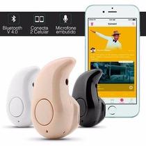 Mini Fone De Ouvido V4.0 Sem Fio Bluetooth Microfone S530