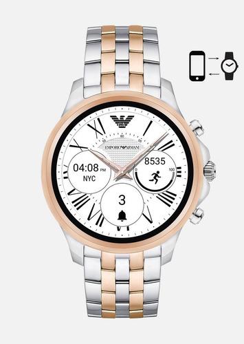 72a9327daa0 Relogio Emporio Armani Connected Smartwatch Art5001 Original