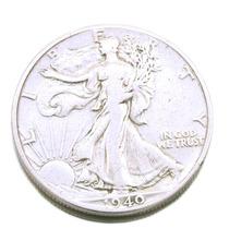 Moeda Em Prata Half Dollar 1940 Estados Unidos 0442