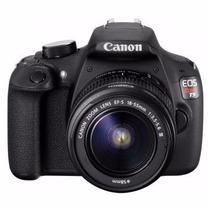 Maquina Fotográfica Canon Eos Rebel T5 18mp Preta