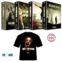 Dvd The Walking Dead 1ª, 2ª, 3ª E 4ª Temporadas + Camisa