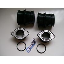 Kit Condutor Ar Coletor Anéis Admissão (6 Peças) Cb 400 450