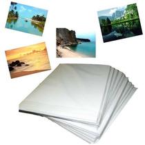 Papel Fotográfico Glossy Brilhante 230 Grs A4 Pct 50 Folhas