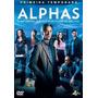 Dvd Alphas - 1ª Temporada - 3 Discos - Novo - Lacrado!