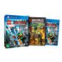 Lego Ninjago Ps4 Novo 100% Em Português + Filme Ed Limitada
