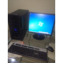 Pc Computador Positivo Amd Dual Core X2, Hd 160, 2gb+lcd 17+