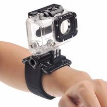 Caixa Protetora Prova D Água+pulseira De Braço Rotação 360º