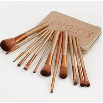 Kit 12 Naked Pincel Para Maquiagens Frete Grátis