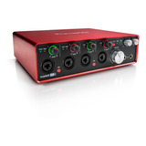 Interface De Audio - Scarlett 18i8 - Focusrite