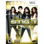 Jogo + Microfone Disney Sing It: Party Hits Pra Nintendo Wii