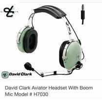 Fone De Aviação David Clark Headset H7030