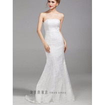 Vestido De Noiva Renda Luxo Importado Pronta Entrega