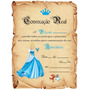 Festa Cinderela - Convites Aniversário
