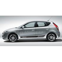 Adesivo I30 Hyundai Faixa Lateral Acessórios I30 La