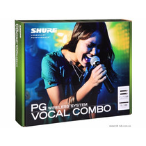 Microfone Duplo Mão Shure Blx288/pg58
