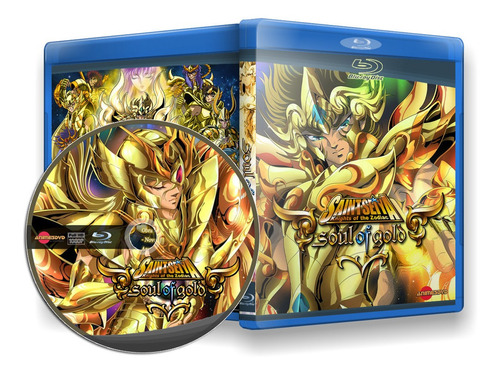 Cavaleiros Do Zodíaco - Box Blu-ray Alma De Ouro