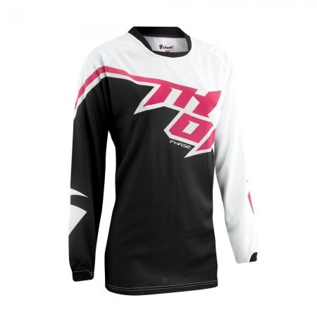 Camisa Thor Phase 15 Feminina - Preta / pink - Tam. M