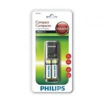 Carregador De Pilhas Philips 220v Aa/aaa +02 Pilhas 2450mah