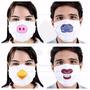 Mascara Cirurgica Odontológica Desenho Bichos Variados C/20