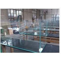Aquário De Vidro 200 Litros 100x40x50 Cm Lapidado 6 Mm