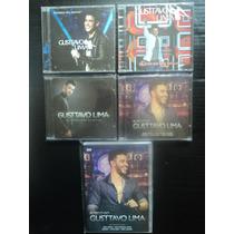 Coleção Gusttavo Lima ( 4 Cds + 1 Dvd ).