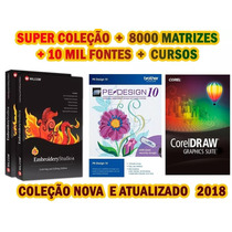 Wilcom E2 + Pe Design 10 + 800mil Matrizes Super Promoção!