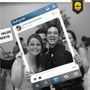 Placa Facebook Instagram Tinder Moldura Redes Sociais