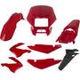 Carenagem Bros 125 Vermelho 2003/2004/2005 Kit Completo